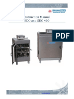Instruction Manual EDO and SDO 400