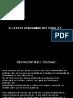 000 - PRESENTACIÓN CIUDADES S. XX