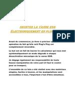 Shunter la vanne EGR électroniquement en Plug mise à jour