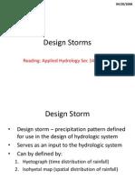 Design Storms