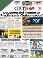 Periódico Norte edición impresa día 22 de febrero 2014