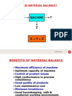 Material Balance Palm Oil Mill
