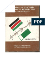Documents-pakistan Afghanistan Relations