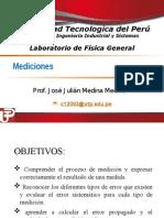 Medicion Laboratorio de Fisica Fiis 2013-2