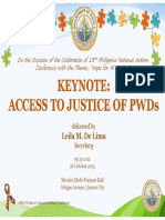 Access to Justice 131027