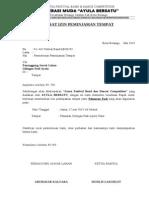 Surat Ijin Peminjaman Lahan