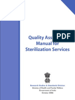 1 Quality Assurance Manual for Sterilisation Services