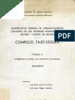ANTEPROYECTO TAJO-SEGURA 1967 TOMOII MEMORIA