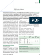 The Global Burden of Diabetic Foot Disease