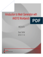 Introduction to Mesh Generation with