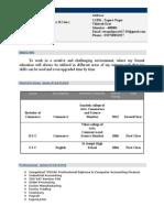 Swapnil CV (1)