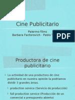 Exportadores servicios producción-publicidad