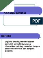 Gangguan Organik Mental