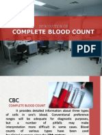 Intro to Complete Blood Count
