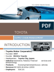 value chain of toyota motors company Bmw value chain analysis - marion maguire - research  the company built high brand equity over the years through continuous branding efforts and high quality.