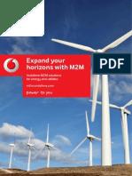 Vodafone M2M Energy and Utilities Brochure