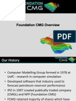 Foundation CMG Overview Jan 2014