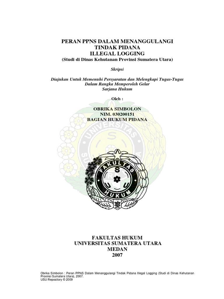 Skripsi Fakultas Hukum
