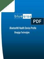 Bluegiga Bluetooth Health Device Profile