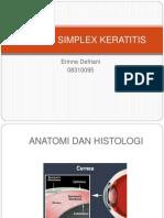Herpes Simplex Keratitis