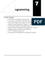Plc Stage Programming