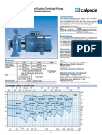 Closed Coupled Pumps NM