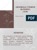 Abnormal uterine bleeding