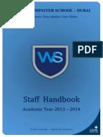 GEMS Teachers Handbook 2014