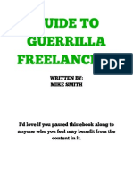 Guide to Guerrilla Freelancing