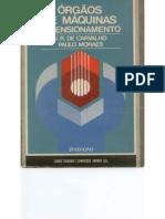 Órgãos de Máquinas Dimensionamento - J. R. Carvalho e Paulo Moraes