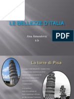 LE BELLEZZE D'ITALIA