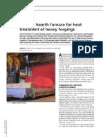 Pp94-99 MS10 Bogie Heart Furnace for 250 t Shaft