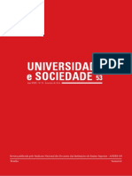 Revista Universidade Sociedade 53.