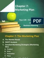 Chapter 7 - Marketing Plan