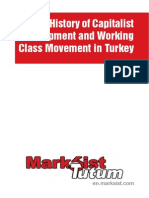 A Brief History of capitalist development in Turkey
