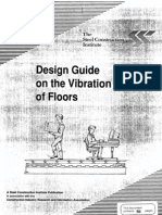 SCI P076 Design Guide for Floor Vibrations