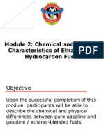 02 Chemical and Physical Characteristics of Ethanol and Hydrocarbon Fuels