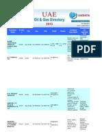 203806499 Uae Oil Gas Directory Sample