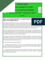Diaspora News - February 15 - 21, 2014