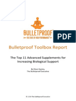 Bulletproof Top 11 Advanced Supplements