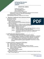 CFM ProgramaEI2014-QUIMICA