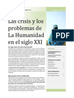 Las Crisis y Los Problemas de La Humanidad en El Siglo XXI