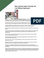 Centros Penales operan bajo el poder de elementos de la Policía Nacional