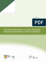 guía sobre tratamiento de ARU para pequeños núcleos de población