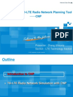 5 Introduction to TD-LTE Radio Network Planning Tool-CNP
