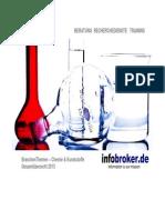 Chemie & Kunststoffe BranchenThemen Gesamtübersicht 2013