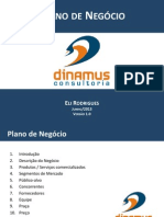 Dinamus Modelo de Plano de Negocio