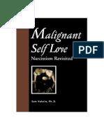 Malignant Self Love