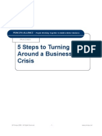Five Steps to Turning Around a Business in Crisis