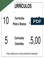 FAÇA JÁ SEU CURRICULO